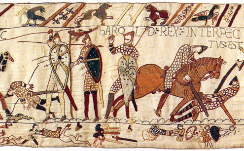 useful bayeux tapestry source events surrounding norman The bayeux tapestry a ribbon of scrolling tapestry 70 yards long that tells in pictures the story of the norman conquest of england in 1066 story it tells these simple drawings in yarn that seem very naive but are not and the lingering mysteries surrounding its creation.