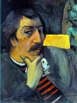 Paul Gauguin self portrait