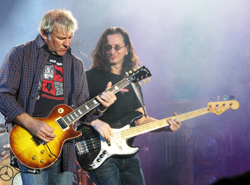 Rush live at the NEC