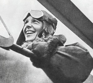 Amelia Earhart disappears – 2 July 1937