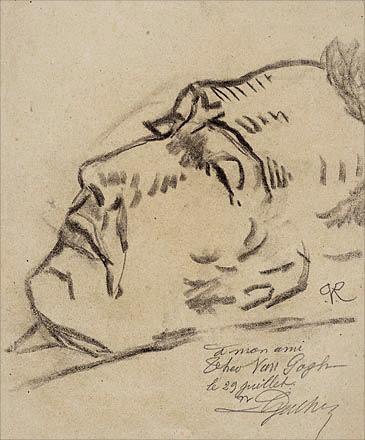 The suicide of Vincent van Gogh – 29 July 1890