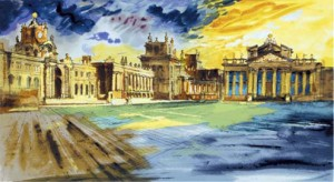Blenheim Palace by John Piper
