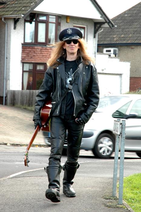 Julian in the street