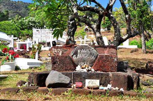 Paul Gauguin's grave