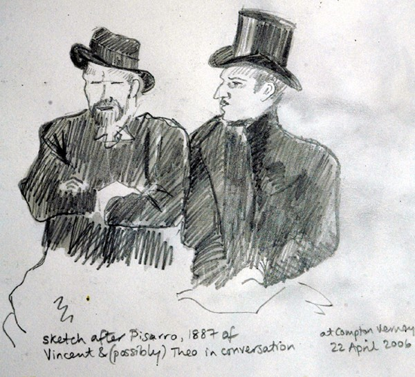 Vincent and Theo after Pisarro
