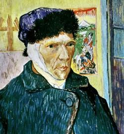 Vincent van Gogh mutilates his ear -23 December 1888