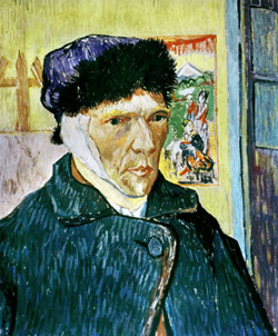 Vincent van Gogh mutilates his ear – 23 December 1888