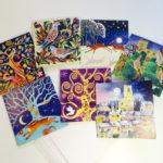 Winter greetings cards