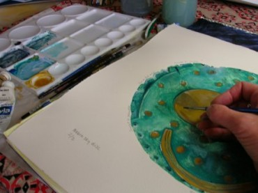 Making a collagraph