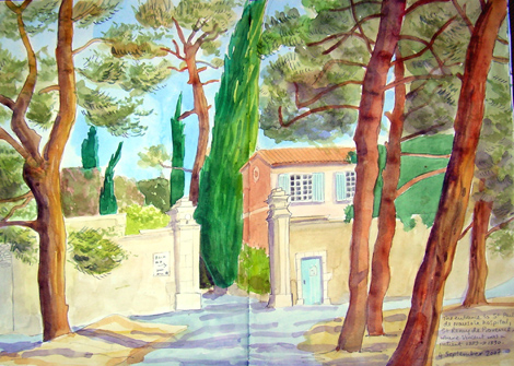 Another postcard from St Remy de Provence