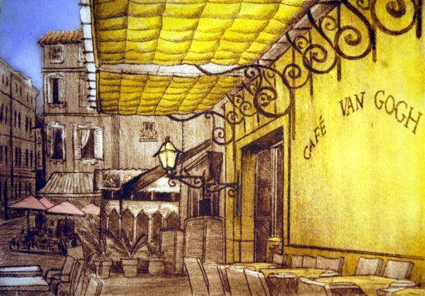 Vincent's cafe terrace