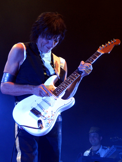 Guitarist jeff beck
