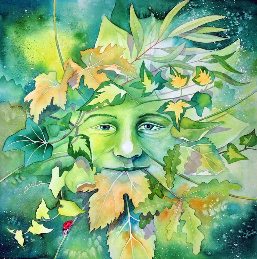 Forest Green Man