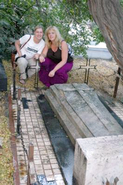 jane digbys grave in Damascus