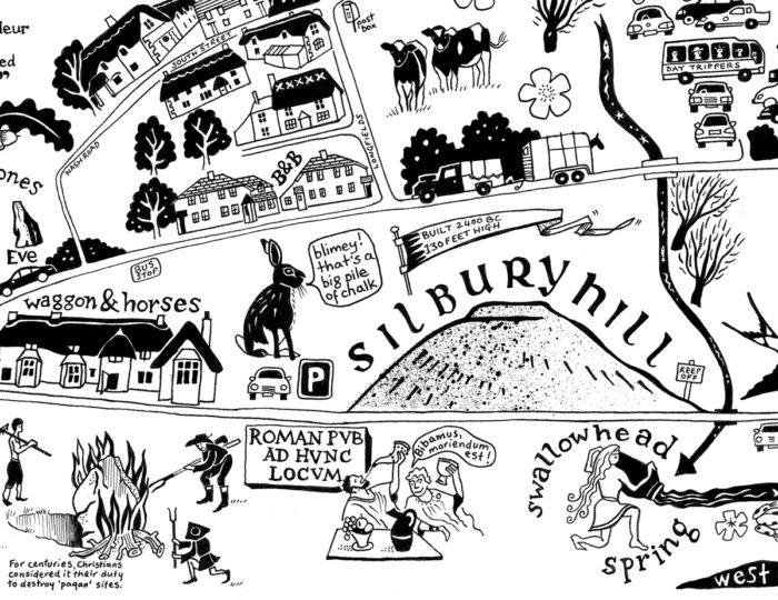 Map of Avebury