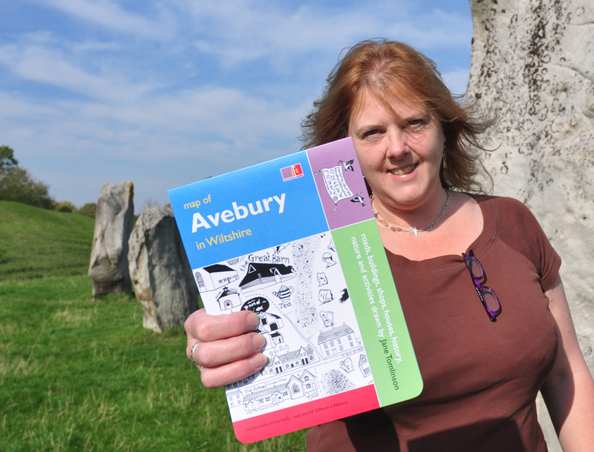 Map of Avebury