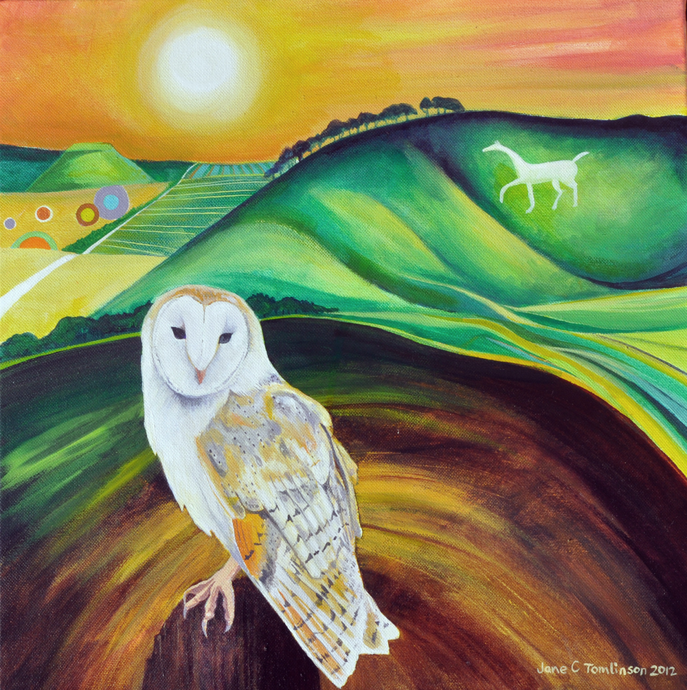 Cherhill barn owl