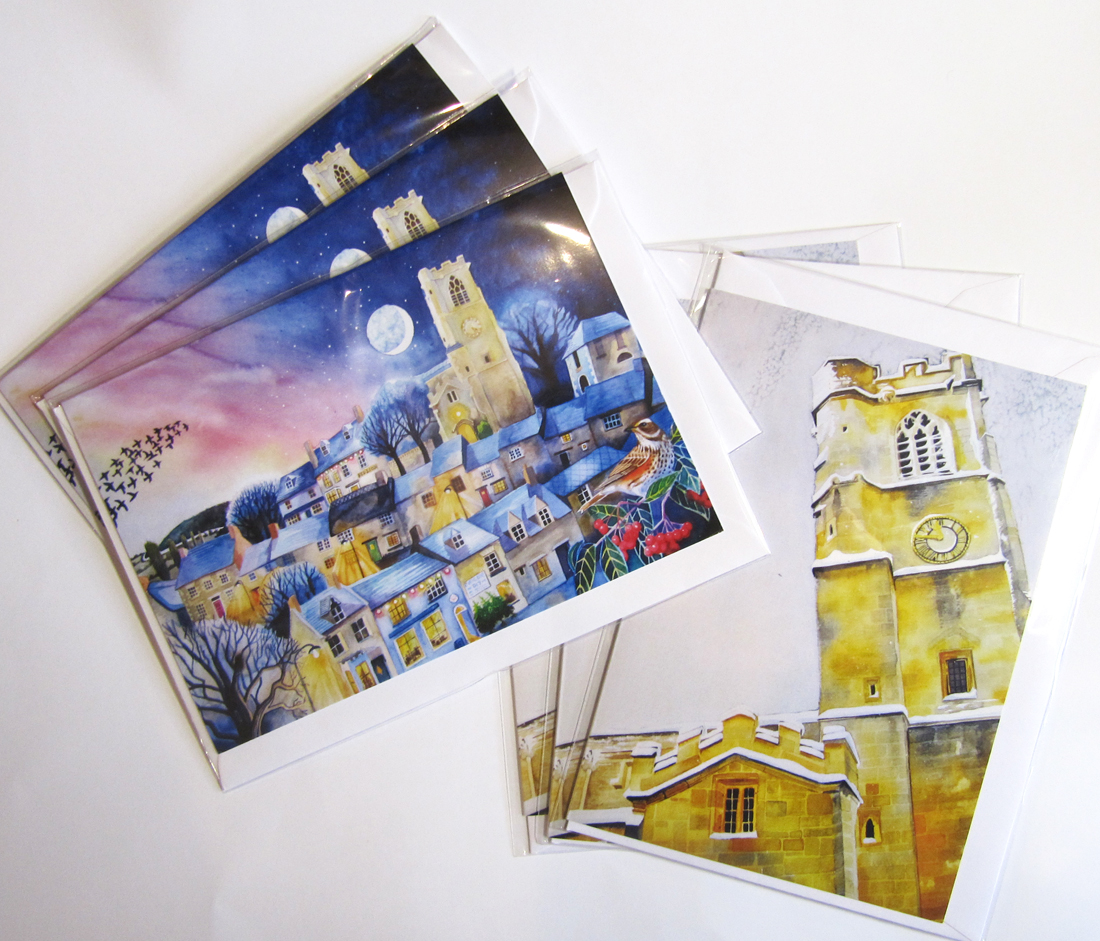 eynsham church greetings cards