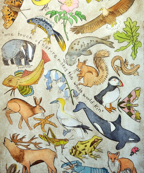 One touch of nature