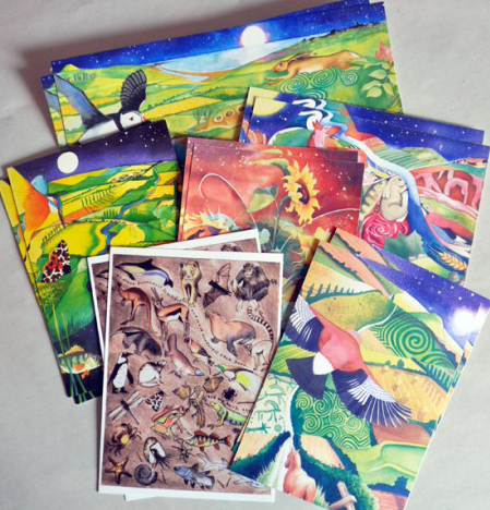 Selection pack of postcards