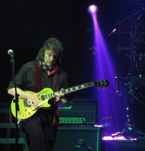 Photo of Steve Hackett's Genesis Revisited show