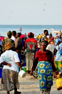 Photo of Tanji beach fish market Gambia
