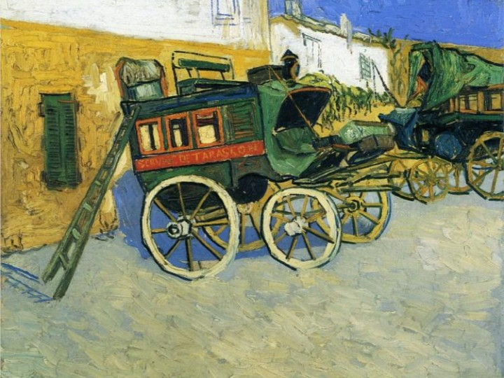 Van Gogh's Tarascon Diligence at the Ashmolean