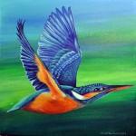 Whoosh... kingfisher!