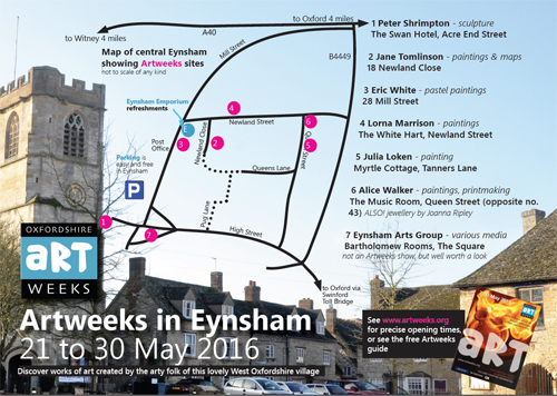 Artweeks in Eynsham 2016