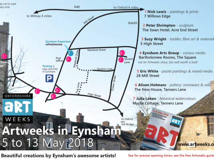 Artweeks in Eynsham 2018
