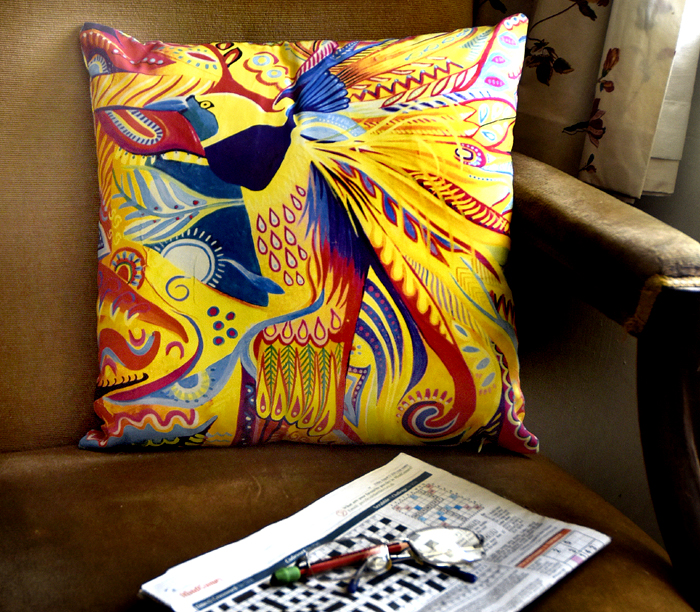 Photo of Bird of Paradise cushion