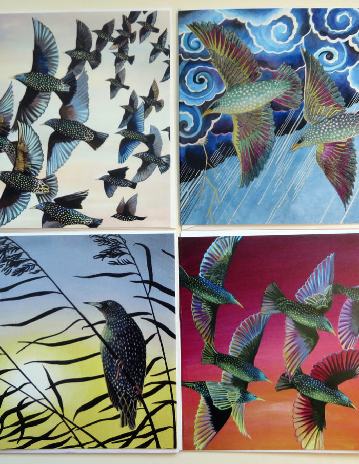 Starling greetings cards