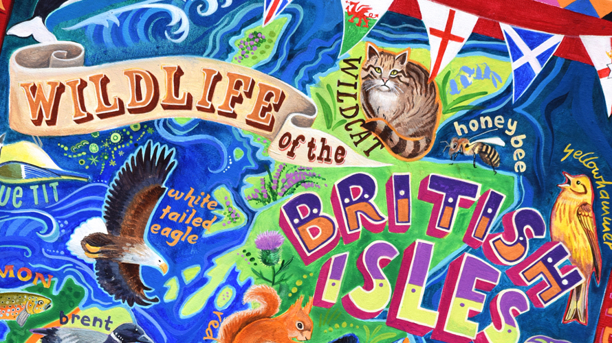 British wildlife,