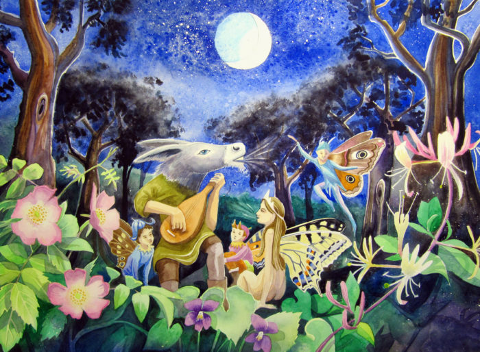 Midsummer Night's Dream painting