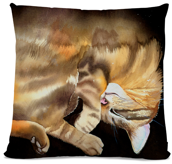 Picture of Tabby Cat cushion side A