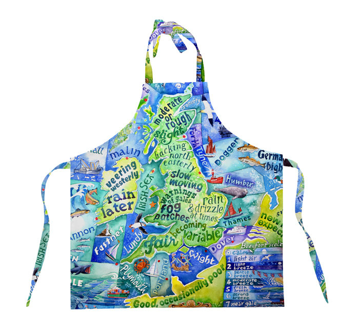 Picture of Shipping Forecast apron