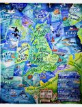 Picture of Shipping Forecast tea towel