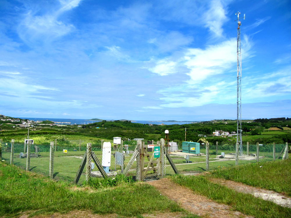 Photo of Scilly Automatic coastal station