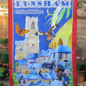 Eynsham tea towel