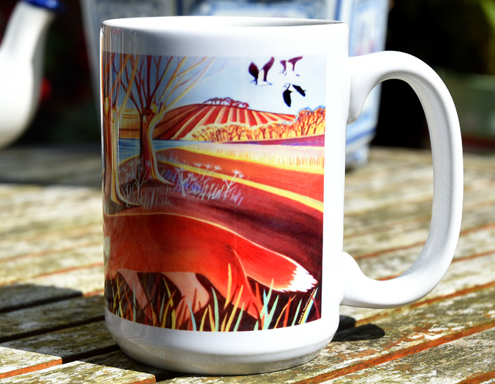 Photo of Autumn Fox mug