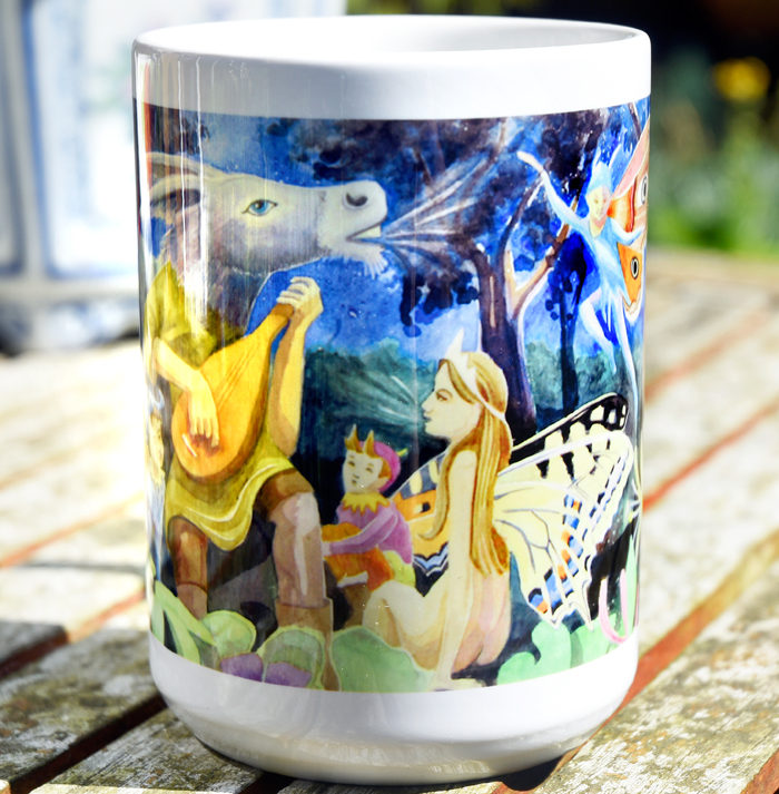 Midsummer Night's Dream mug