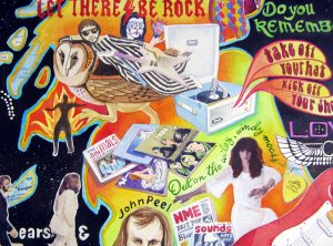 Map of British Rock Music detail