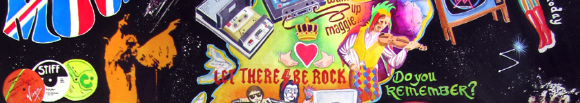 British Rock Music - row2 detail
