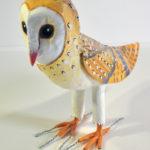 Paper Mache Barn Owl