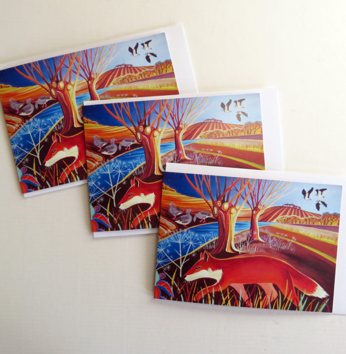 fox greetings cards