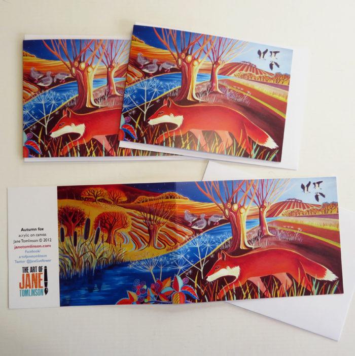 fox greetings cards