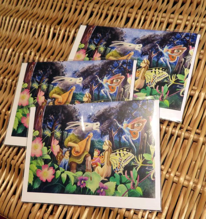 Midsummer Night's Dream greeting cards