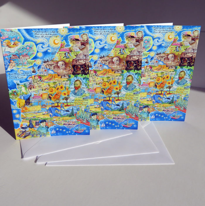 van gogh greeting cards