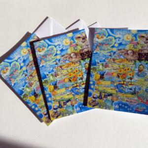van gogh greeting cards