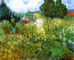 Margaret Gachet in the Garden by van Gogh